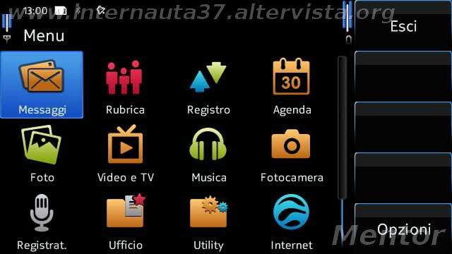 Mentor's Firmware: custom firmware for the Nokia N97